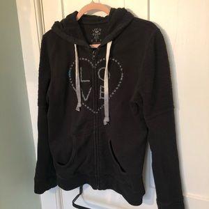 Life Is Good Zippered Sweatshirt